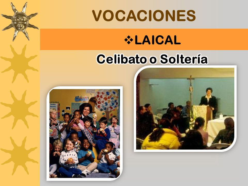 VOCACIONES LAICAL