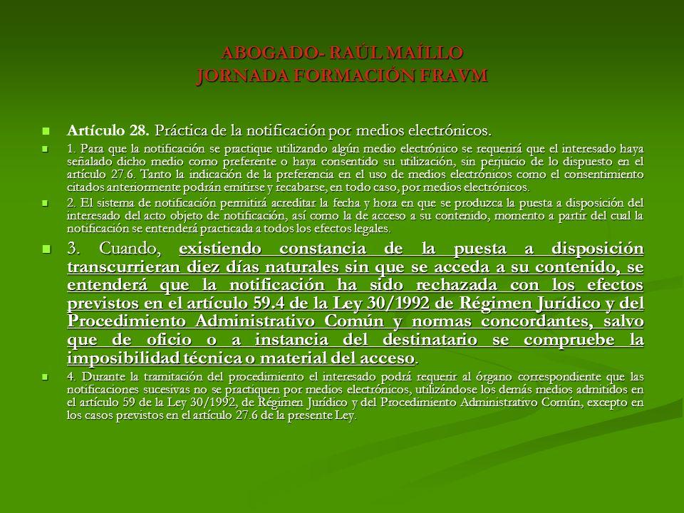 ABOGADO- RAÚL MAÍLLO JORNADA FORMACIÓN FRAVM Real Decreto Legislativo 1/2004, de 5 de marzo, por el que se aprueba el Texto Refundido de la Ley del Catastro Inmobiliario.