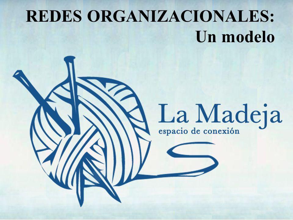 REDES ORGANIZACIONALES Intercambio y cooperación.Criterios Complementariedad.