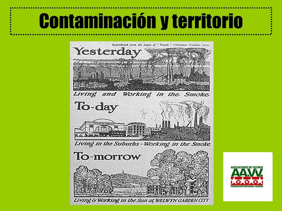 Contaminación y territorio