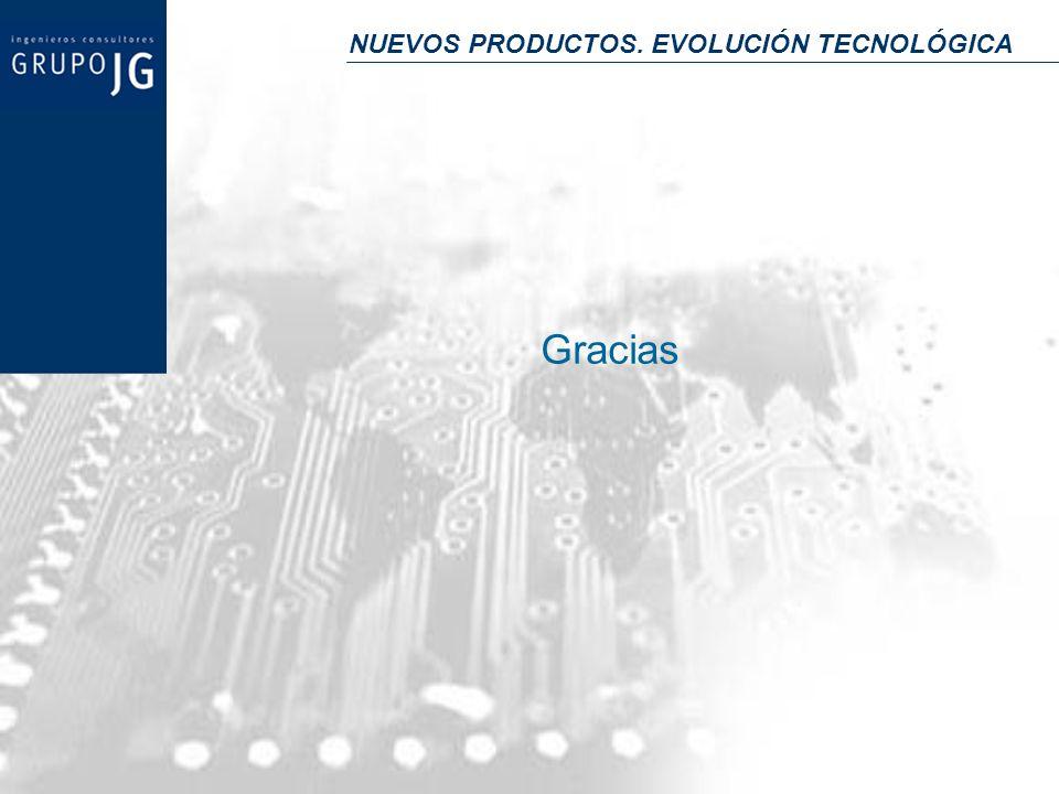 NUEVOS PRODUCTOS. EVOLUCIÓN TECNOLÓGICA Gracias
