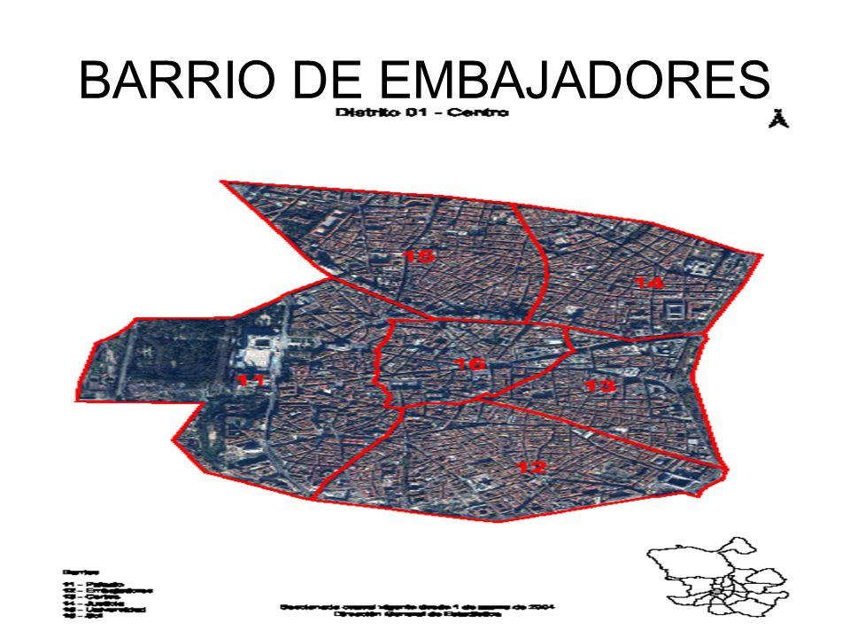 BARRIO DE EMBAJADORES