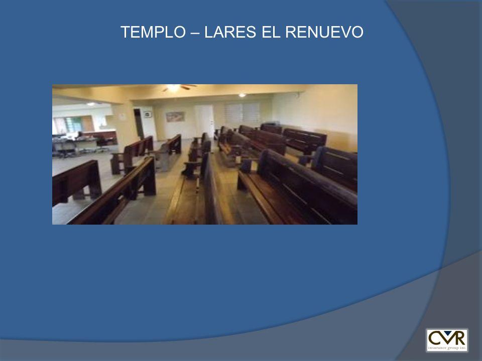 TEMPLO – LARES EL RENUEVO