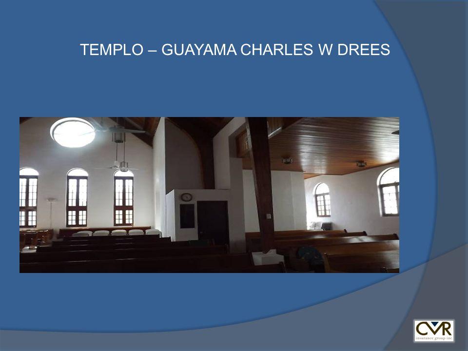 TEMPLO – GUAYAMA CHARLES W DREES