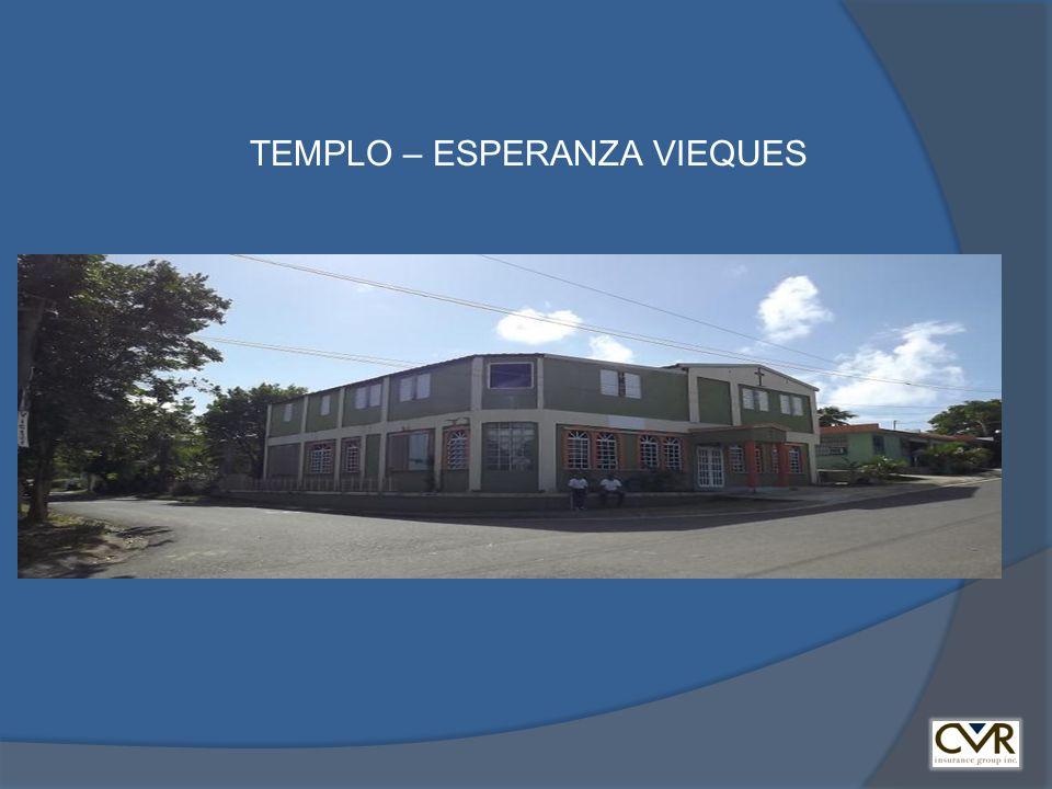 TEMPLO – ESPERANZA VIEQUES