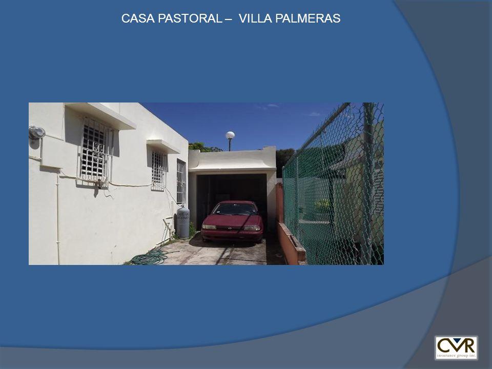 CASA PASTORAL – VILLA PALMERAS