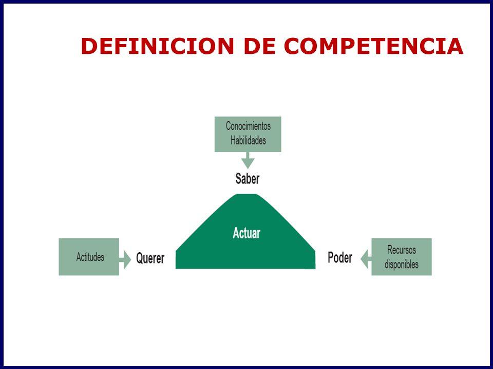 DEFINICION DE COMPETENCIA