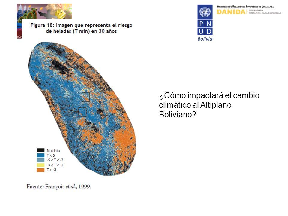 ¿Cómo impactará el cambio climático al Altiplano Boliviano