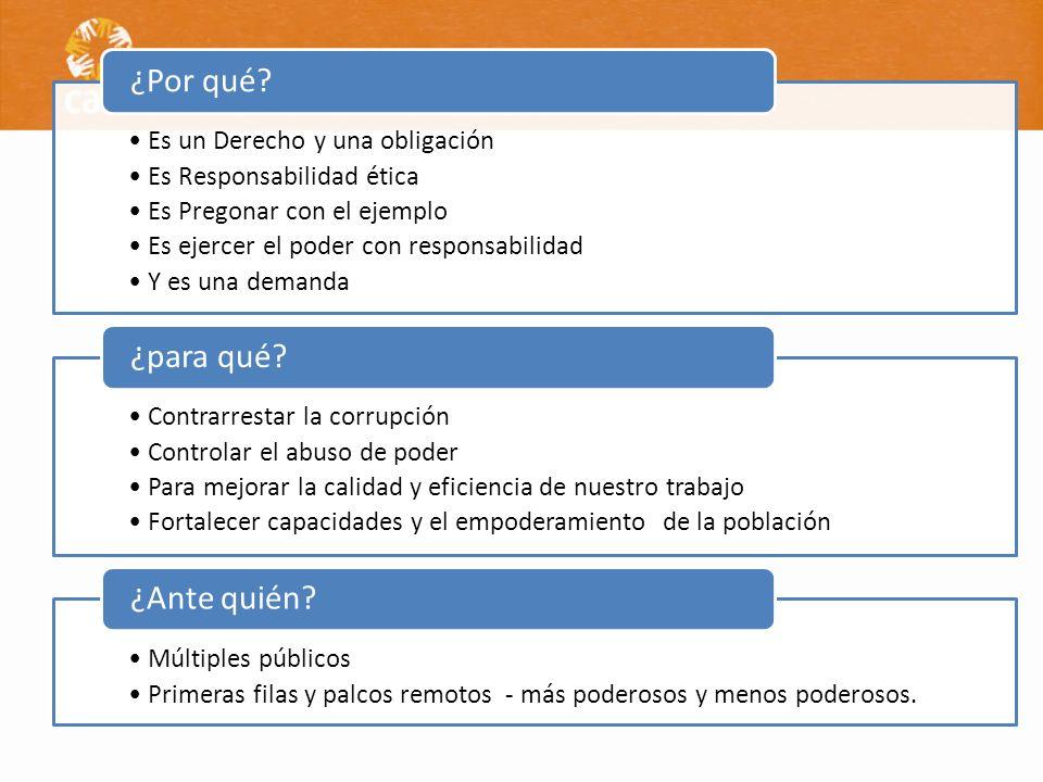 Información diferenciada (gestión, manejo de recursos, acuerdos) de interés de los participantes.