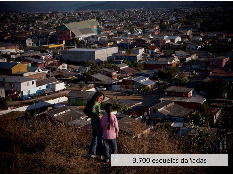3.700 escuelas dañadas