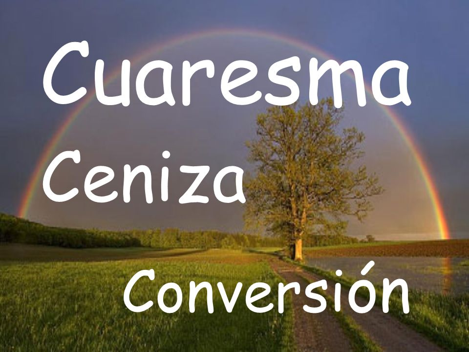 Cuaresma Ceniza Conversi ón