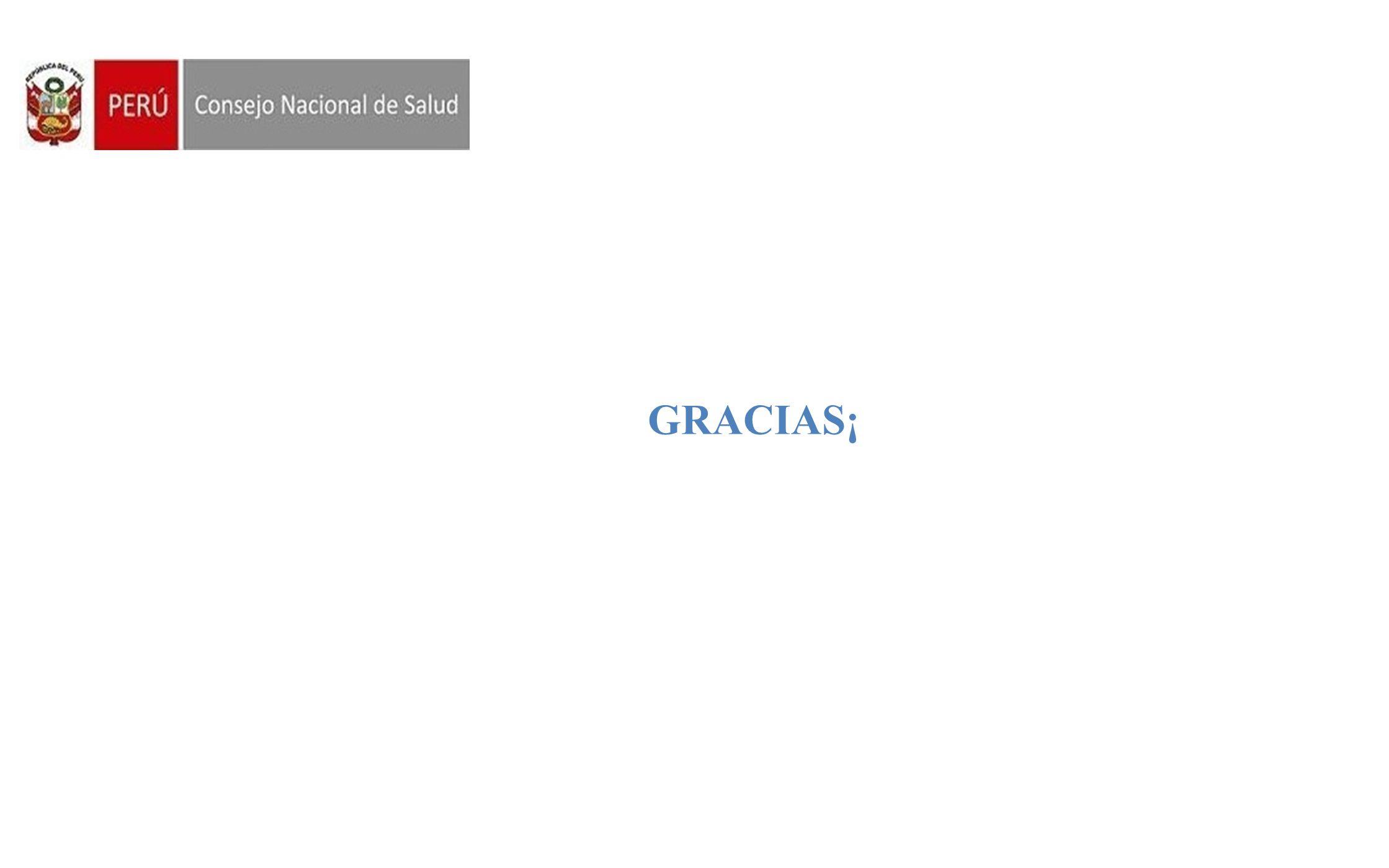 Consejo Nacional de Salud GRACIAS¡