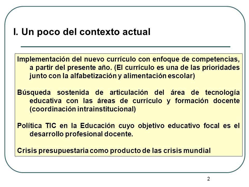 2 Implementación del nuevo currículo con enfoque de competencias, a partir del presente año. (El currículo es una de las prioridades junto con la alfa