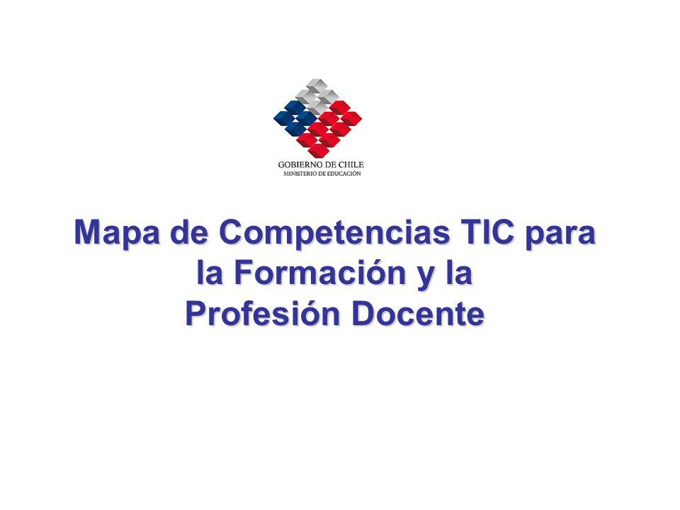 Mapa de Competencias TIC para la Formación y la Profesión Docente