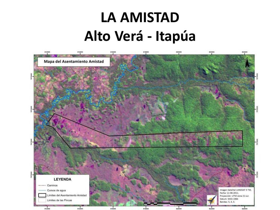 LA AMISTAD Alto Verá - Itapúa