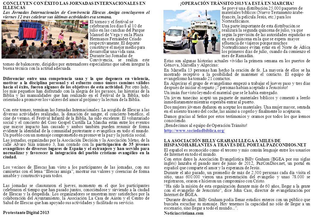 CONCLUYEN CON ÉXITO LAS JORNADAS INTERNACIONALES EN ILLESCAS Las Jornadas Internacionales de Convivencia Illescas Amiga concluyeron el viernes 12 tras