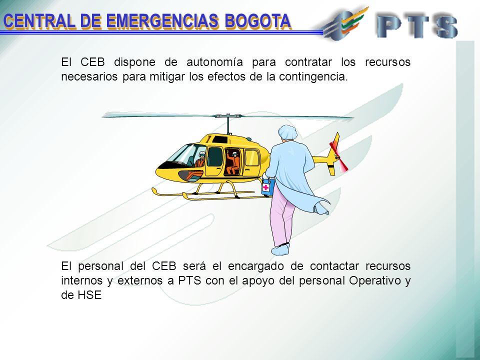 El CEB dispone de autonomía para contratar los recursos necesarios para mitigar los efectos de la contingencia.