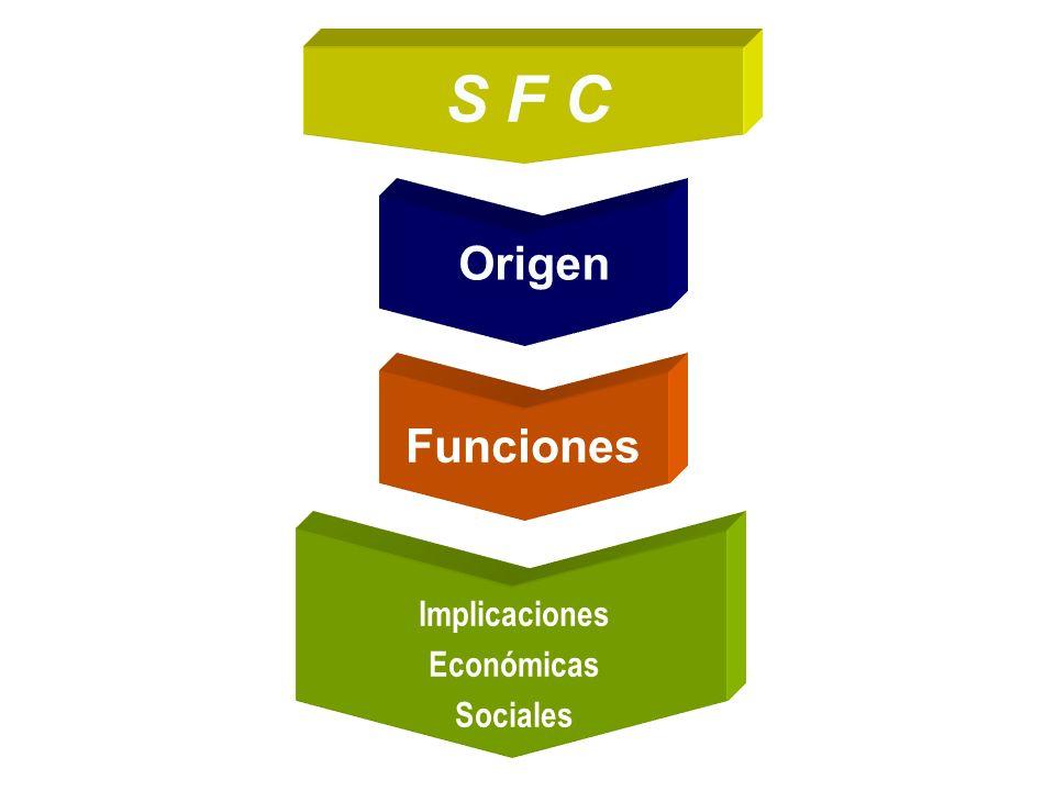 S F C Origen Implicaciones Económicas Sociales Funciones