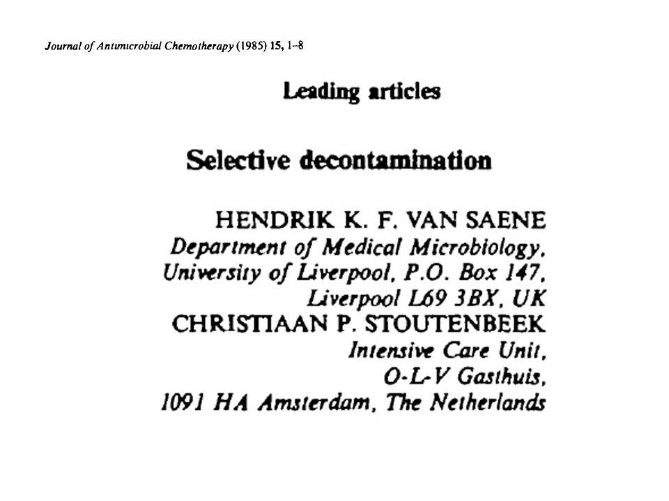 57 ECA y 13 metaanálisis desde 1984 (>10.000 pacientes).