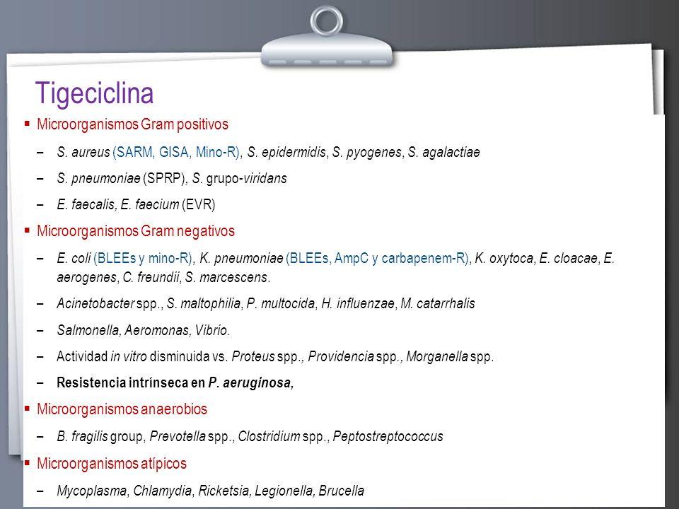 Page 14 Microorganismos Gram positivos – S. aureus (SARM, GISA, Mino-R), S. epidermidis, S. pyogenes, S. agalactiae – S. pneumoniae (SPRP), S. grupo-
