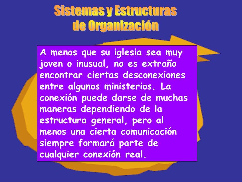 A menos que su iglesia sea muy joven o inusual, no es extraño encontrar ciertas desconexiones entre algunos ministerios. La conexión puede darse de mu