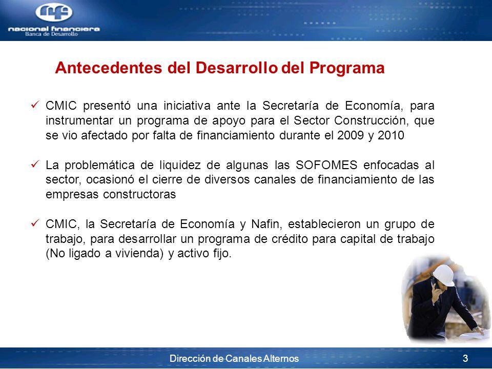 Dirección de Canales Alternos 3 CMIC presentó una iniciativa ante la Secretaría de Economía, para instrumentar un programa de apoyo para el Sector Con