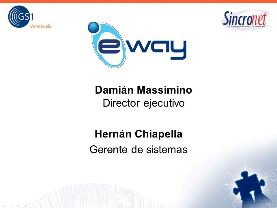 Damián Massimino Director ejecutivo Hernán Chiapella Gerente de sistemas