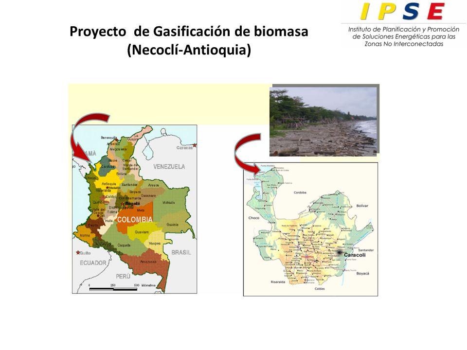 Proyecto de Gasificación de biomasa (Necoclí-Antioquia)