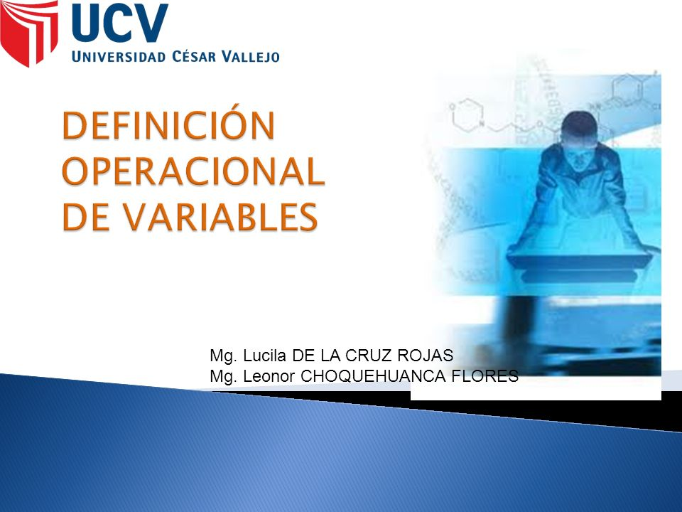 Mg. Lucila DE LA CRUZ ROJAS Mg. Leonor CHOQUEHUANCA FLORES