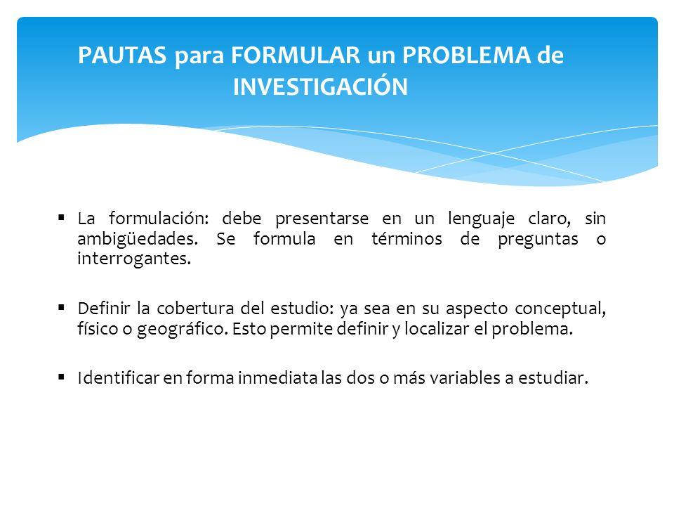 Definir operacionalmente las variables, expresándolas en indicadores susceptibles de verificación empírica.