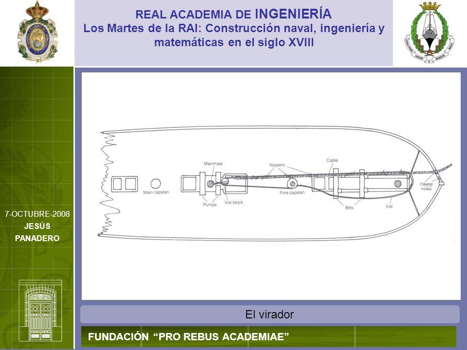 El virador REAL ACADEMIA DE INGENIERÍA FUNDACIÓN PRO REBUS ACADEMIAE Los Martes de la RAI: Construcción naval, ingeniería y matemáticas en el siglo XV