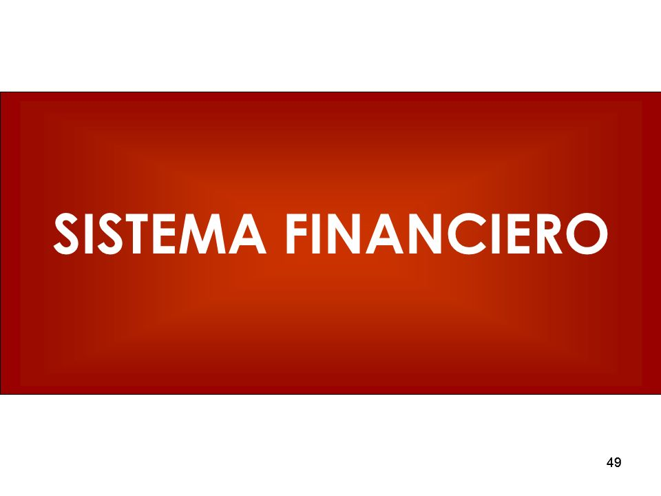 49 SISTEMA FINANCIERO