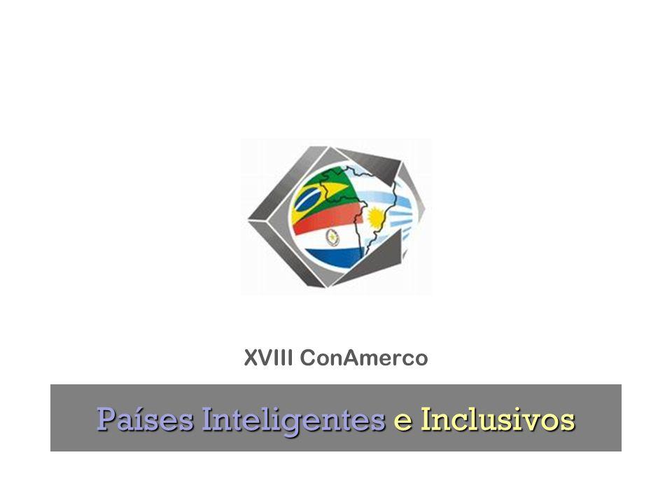 Países Inteligentes e Inclusivos XVIII ConAmerco