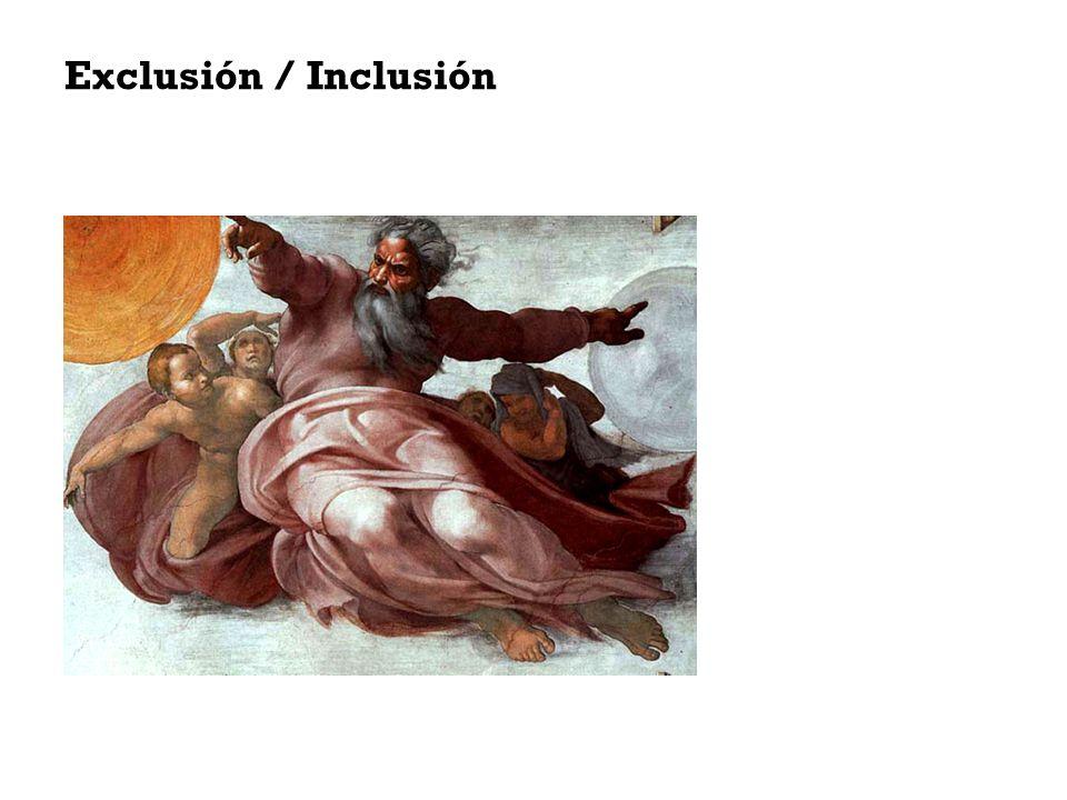 Exclusión Ellos – Nosotros