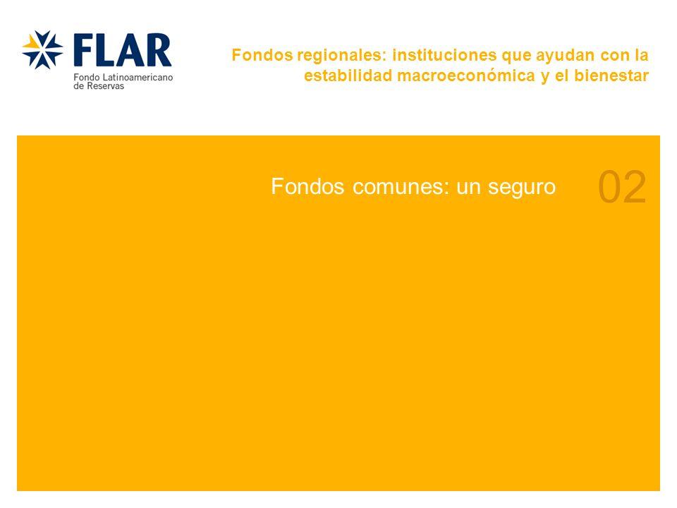 02 Fondos comunes: un seguro Fondos regionales: instituciones que ayudan con la estabilidad macroeconómica y el bienestar