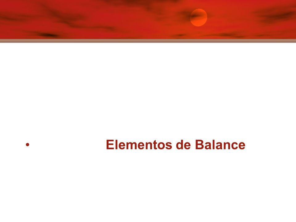 Elementos de Balance