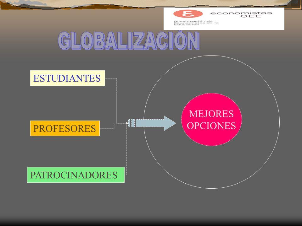 ESTUDIANTES PROFESORES PATROCINADORES MEJORES OPCIONES