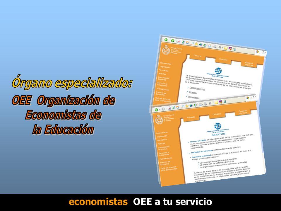 economistas OEE a tu servicio