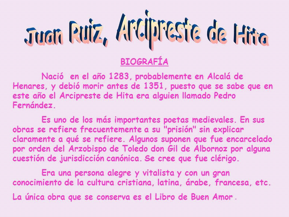 - El Libro de Buen Amor fue titulado así por Ramón Menéndez Pidal, ya que al principio era conocido como Libro del Arcipreste. El Conde Lucanor tambié