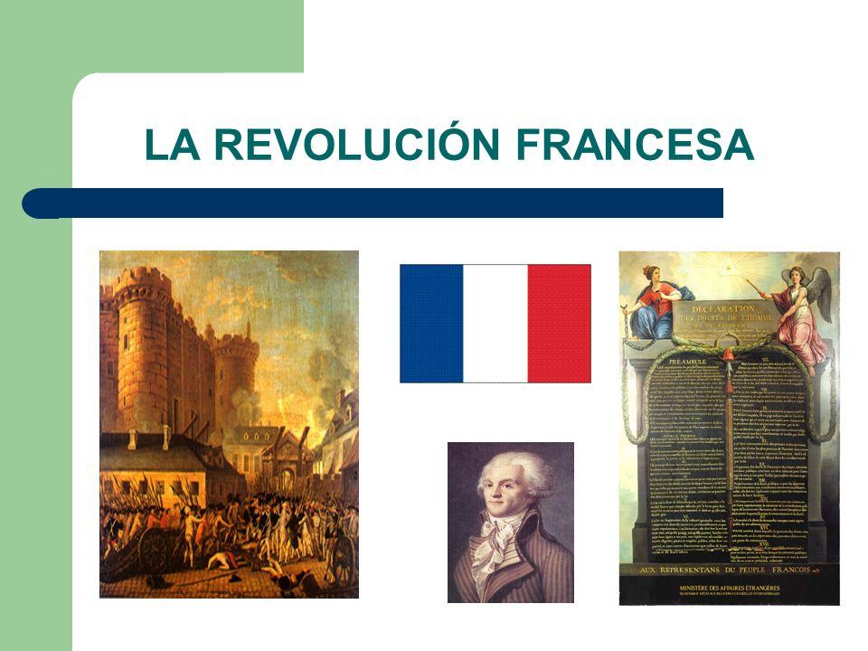 REVOLUCIÓN FRANCESA 1 de mayo de 1789.Convocatoria de los Estado Generales.