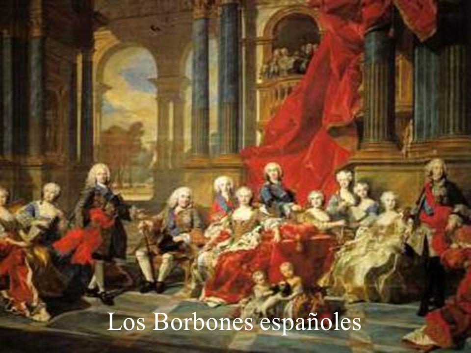 A partir de aquí se fueron firmando una serie de pactos de familia entre Francia y España. Primer pacto de familia.- Se firmó en 1733 y por el que se