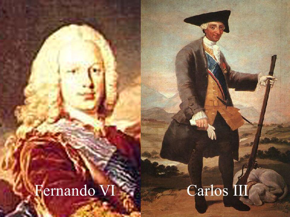 El desengaño de estos pactos, decidió al nuevo monarca español Fernando VI (1746-1754) a seguir una política pacifista y de neutralidad estricta entre