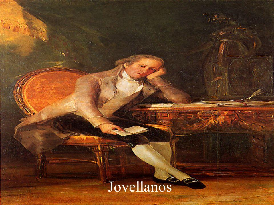 Jovellanos (Gijón, España, 1744-Vega, id., 1811) Político y escritor español. Hijo de una familia de la pequeña nobleza, estudió en Oviedo, Ávila y Al