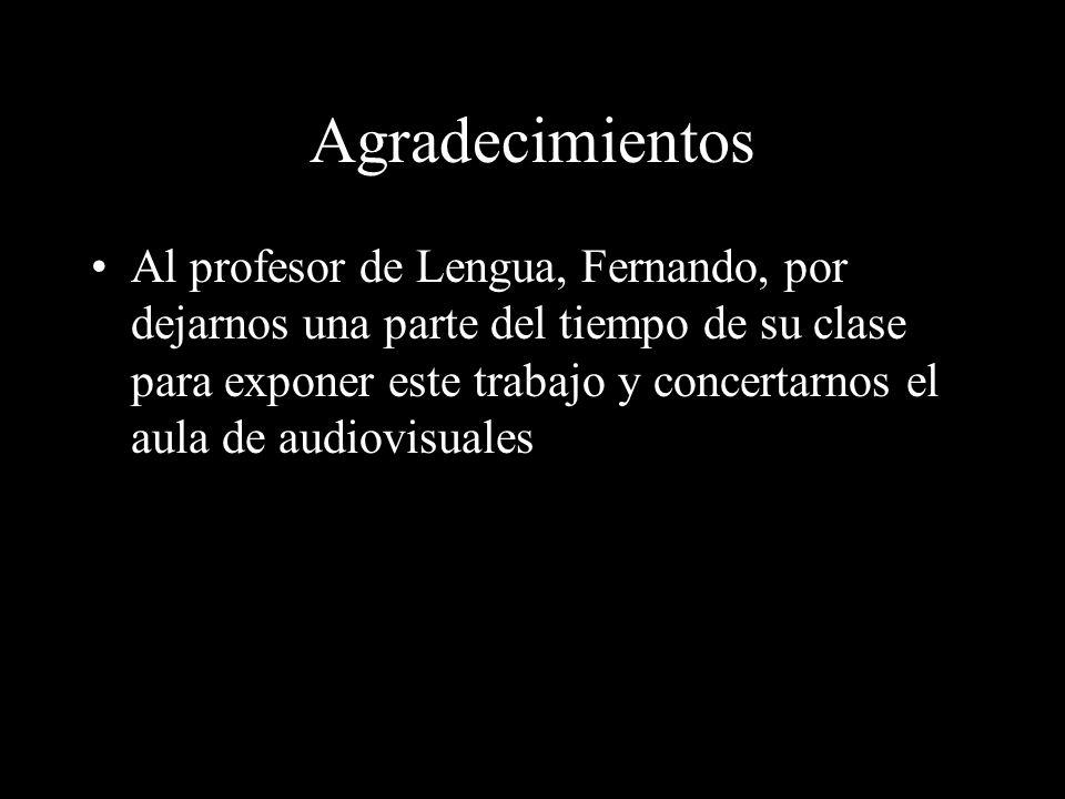 Realización Barahona Esteban Ignacio Izquierdo Laso de la Vega Álvaro Carrascal Úbeda, Pablo