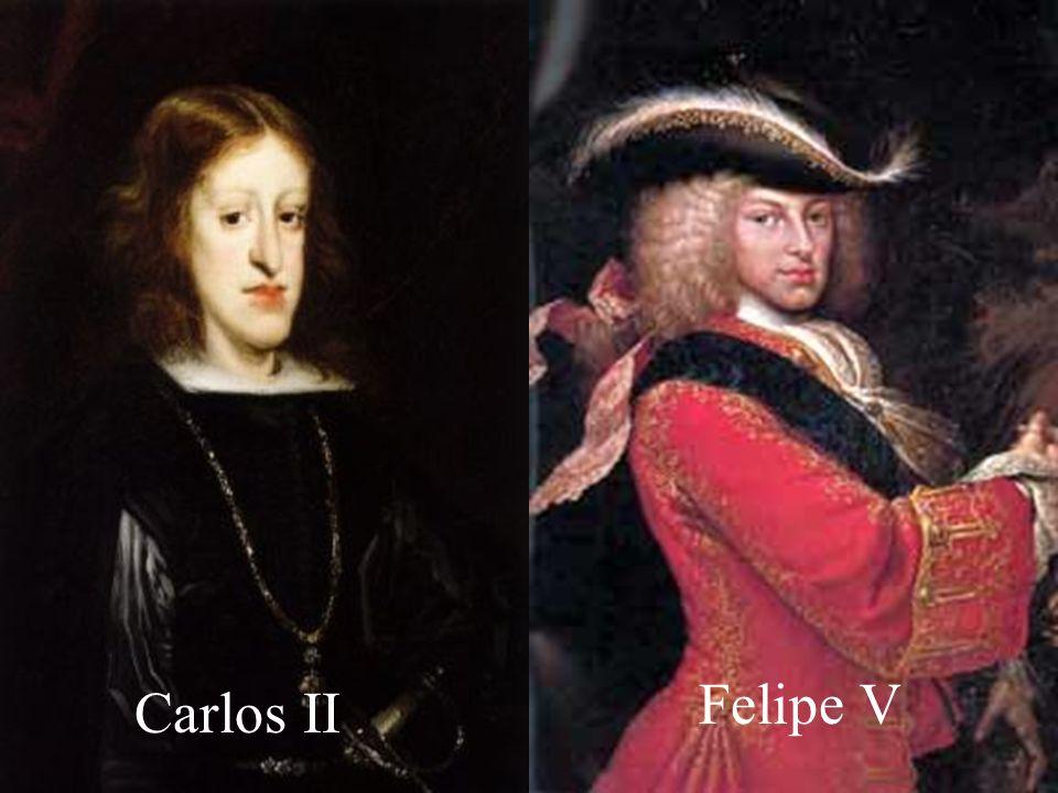 Contexto Histórico Tras la muerte de Carlos II sin descendencia, este nombra heredero a Felipe de Anjou, nieto de Luis XIV de Francia ya que creía que