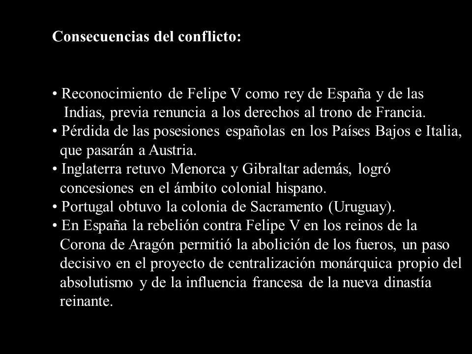 Carlos II Felipe V