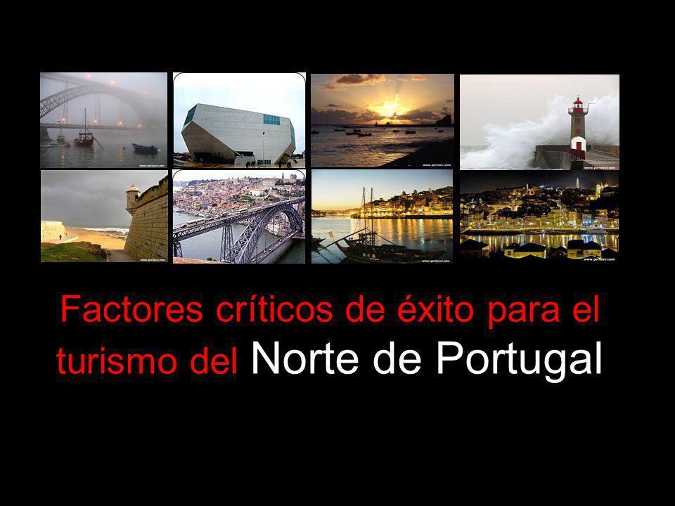 Factores críticos de éxito para el turismo del Norte de Portugal