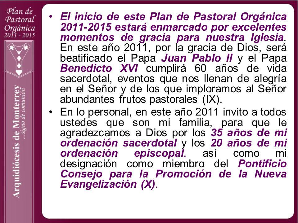 La tarea más significativa del seguimiento sinodal fue el desarrollar nuestro Plan Diocesano de Pastoral Orgánica 2002-2005 con el objetivo de que todas las líneas pastorales y las disposiciones sinodales se pusieran en práctica a través de planes y programas precisos y evaluables (nn.