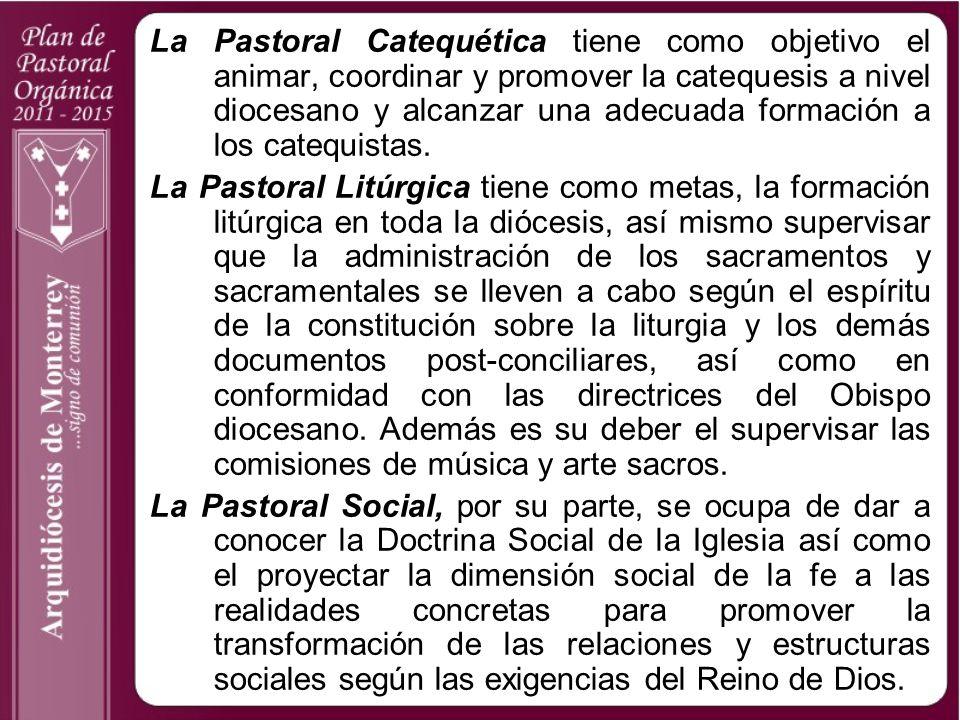 La Pastoral Catequética tiene como objetivo el animar, coordinar y promover la catequesis a nivel diocesano y alcanzar una adecuada formación a los ca