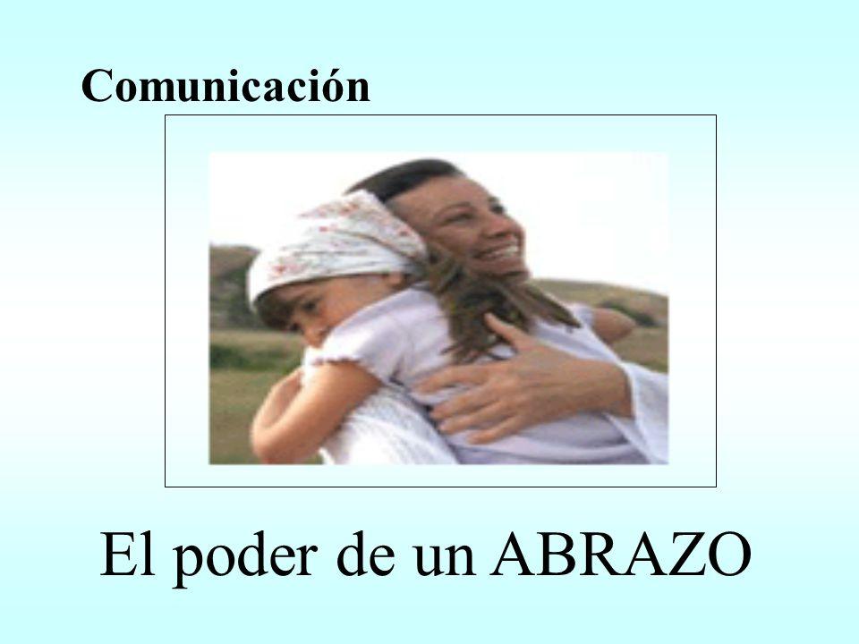 El poder de un ABRAZO Comunicación